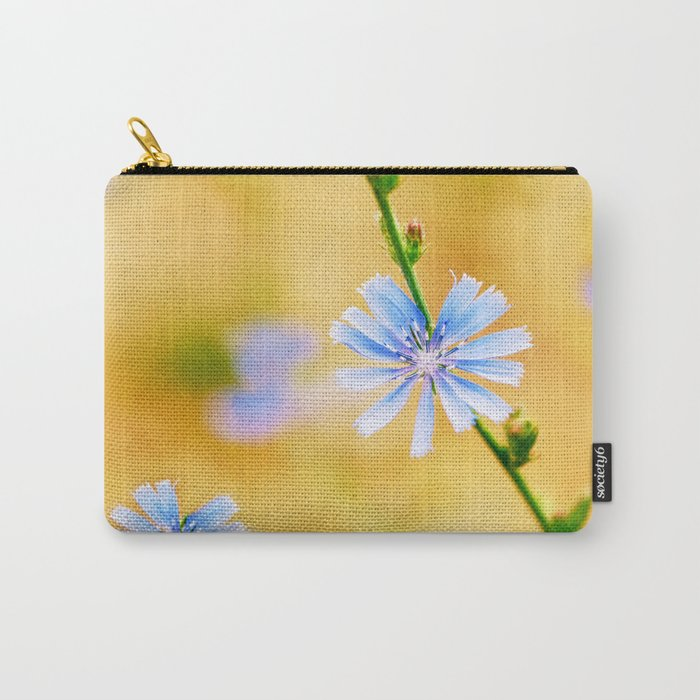 Wild Chicory Carry-All Pouch
