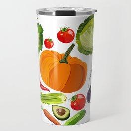 Vegan heart Travel Mug