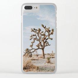 Joshua Tree II Clear iPhone Case