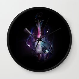 Synæsthesia Wall Clock