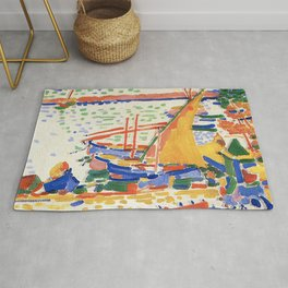 Andre Derain Port of Collioure Rug