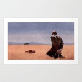 Desert Bound - Better Call Saul Art Print