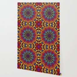 Amazing colors 3D mandala Wallpaper