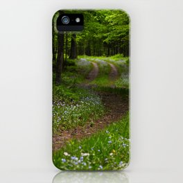Forget-me-not Trail iPhone Case