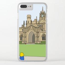 Cambridge struggles: St Johns Clear iPhone Case