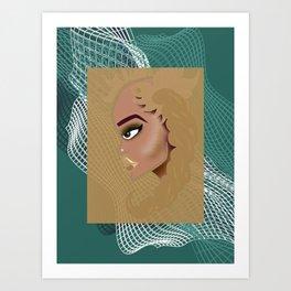 baddie01 Art Print