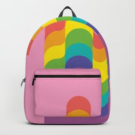 Design-y LGBTQ+ Pride Rainbow Backpack