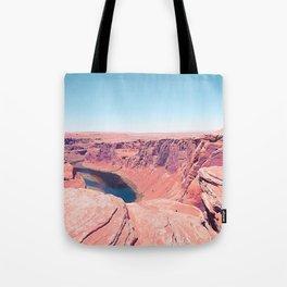 Desert at Horseshoe Bend, Arizona, USA Tote Bag