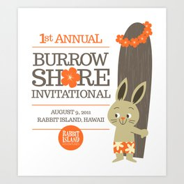 RIA - Burrow Shore Invitational Art Print