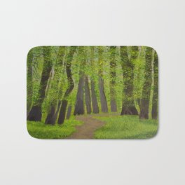 Spring forest Bath Mat