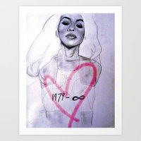 Legends Never Die : Aaliyah Art Print