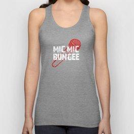 Mic Mic Bungee Unisex Tank Top