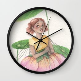 An Umbrella For Ana Wall Clock