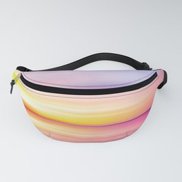 Abstract Sunset VII Fanny Pack