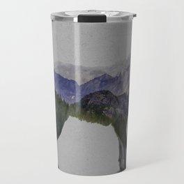 The Rocky Mountain Gray Wolf Travel Mug
