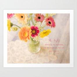 Summer Floral* Art Print