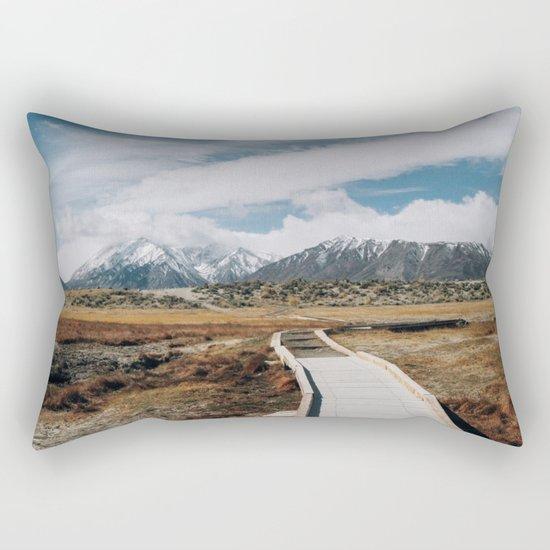SIERRA MOUNTAINS ADVENTURE Rectangular Pillow