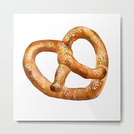 Bretzel Pretzel Metal Print
