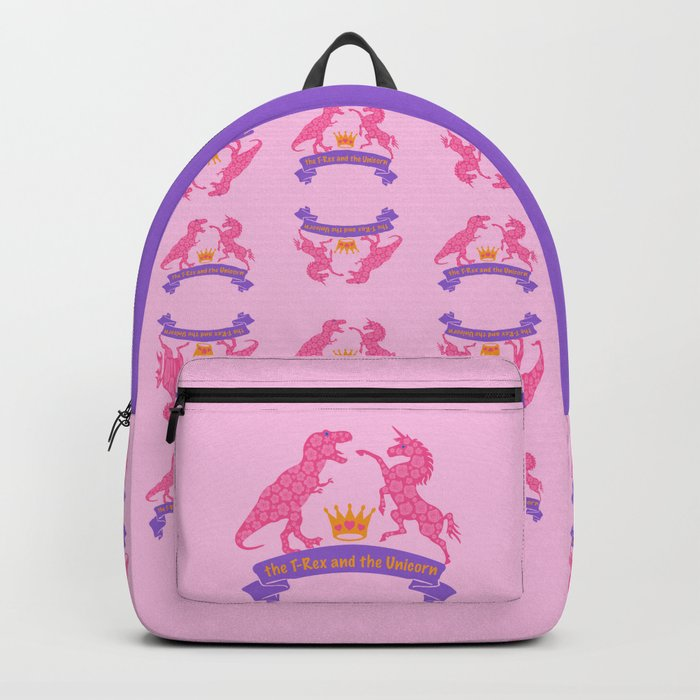 The T-Rex and the Unicorn Backpack