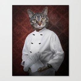 Chef Lola Canvas Print