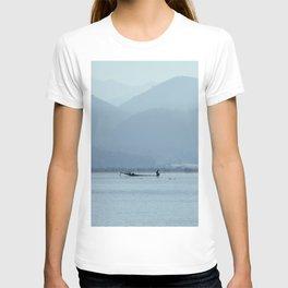 Fisherman on Inle Lake T-shirt
