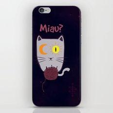 Miau? iPhone & iPod Skin