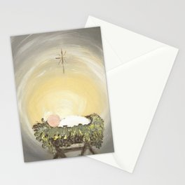 Away in a Manger Stationery Cards