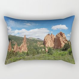 Garden of the Gods Rectangular Pillow