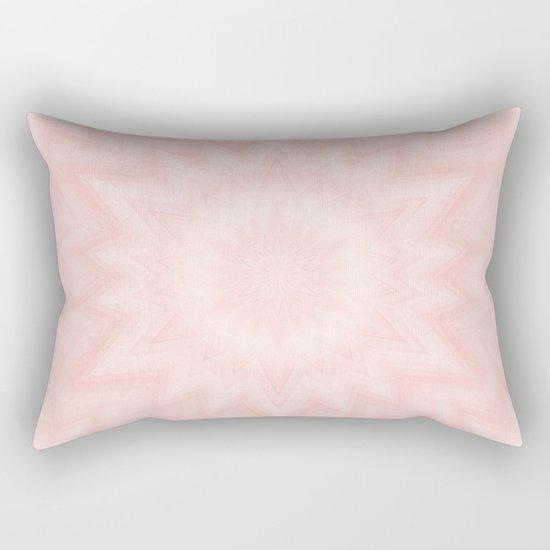Pink starburst Rectangular Pillow