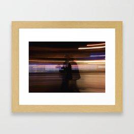 Everything Is A Blur Framed Art Print