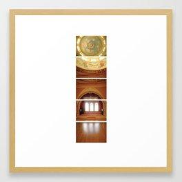 Daunting Dance Hall/ Bass Mansion Framed Art Print