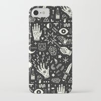 duvet iPhone & iPod Cases featuring Witchcraft by LordofMasks