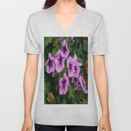 Purple Mum Unisex V-Neck