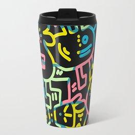 Happy Doodle Travel Mug