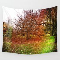 uk Wall Tapestries featuring Uk Fairy - Forest by Created by Eleni