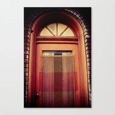enter Canvas Print