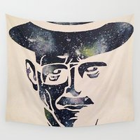 walter white Wall Tapestries featuring Walter by Kayleigh Kirkpatrick