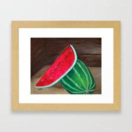 Farmer's Market Framed Art Print