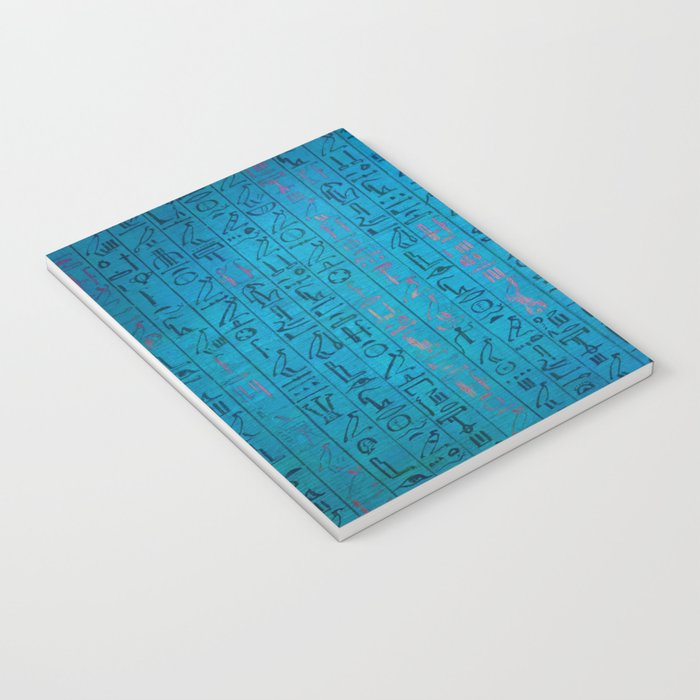 Ancient egyptian blu Notebook