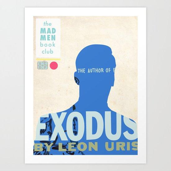 Mad Men Book Club-Exodus Art Print