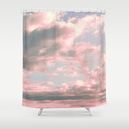 Delicate Sky Shower Curtain