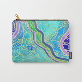 Tangle lagoon Carry-All Pouch