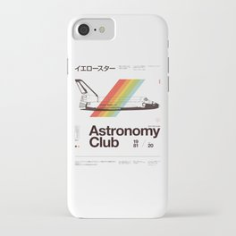 Astronomy Club iPhone Case