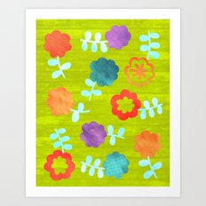 Daisy Dallop II Art Print