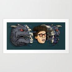 Terror Dog Art Print