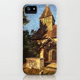 St Laurence Church Tidmarsh iPhone Case