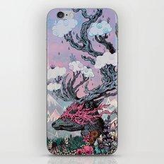 Journeying Spirit (deer) sunset iPhone & iPod Skin
