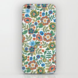 Flowers by Veronique de Jong iPhone Skin