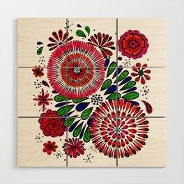 Petal Power Wood Wall Art
