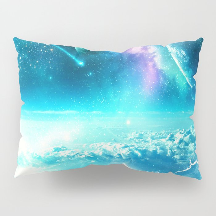 Planets on the Sky Pillow Sham